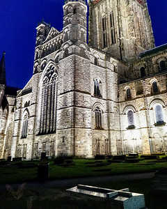 Church - Durham Cathedral - Illuminated
