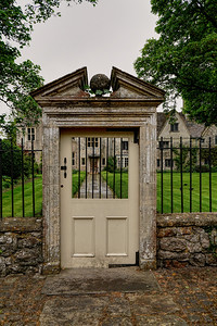 Gate to Avebury Manor Garden