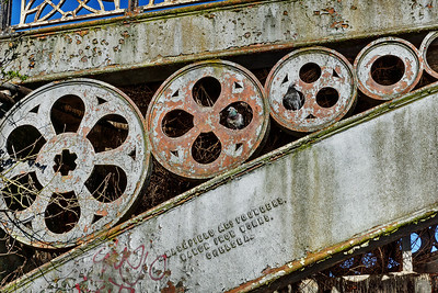 Iron Bridge Detail - Regents Canal - Camden
