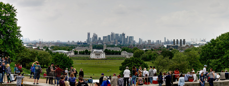 Panorama from Greenwich Observatory