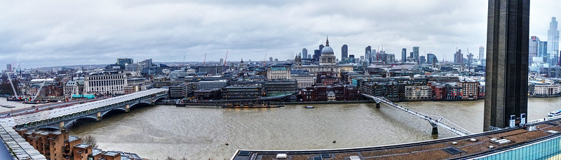 River Thames - Viewed from Tate Modern - London