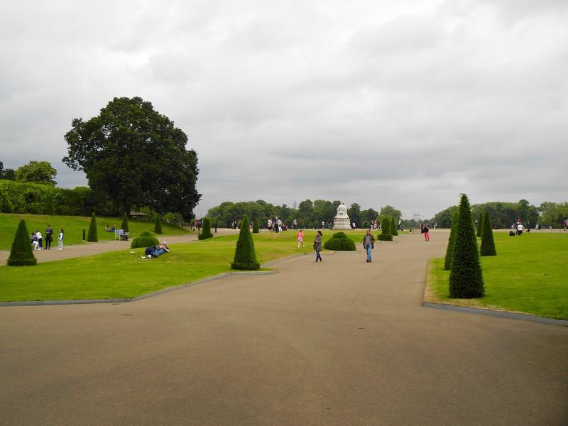 Beautiful Kensington Gardens.