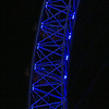 London Eye at night.