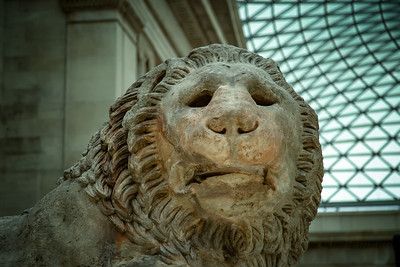 The Lion of Knidos, British Museum, London