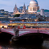Blackfriars Bridge and St. Paul's