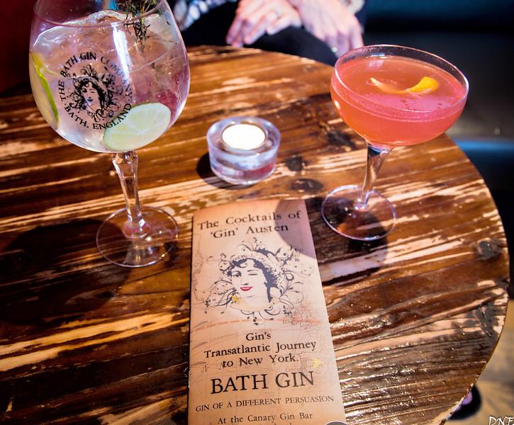 Canary Gin Bar, Bath