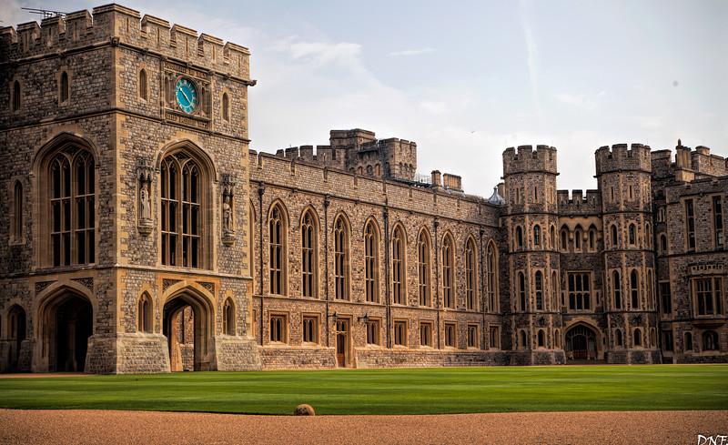 Windsor Castle, Upper Ward