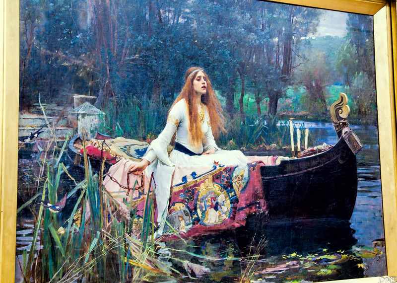 The Lady of Shalott, by Waterhouse at Tate Britain