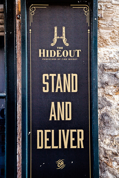 The Hideout bar, Bath
