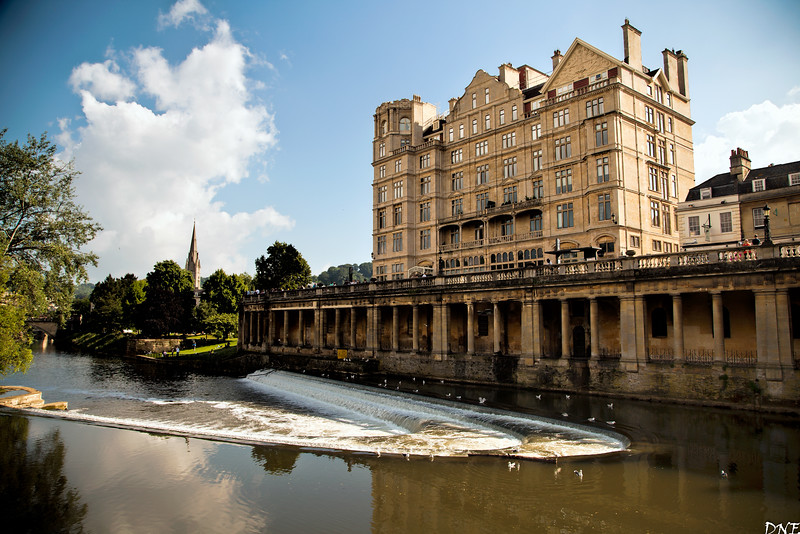 Avon river, Bath