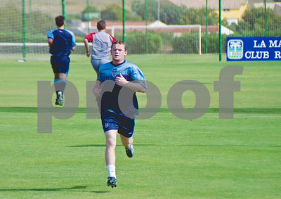 Wayne Rooney training with the England National Football Squad at La Manga Club, 24th May 2003