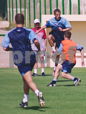 England National Football Squad training at La Manga Club, 24th May 2003