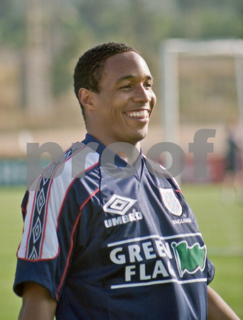 Paul Ince training with the England National Squad at La Manga Club, June 1998