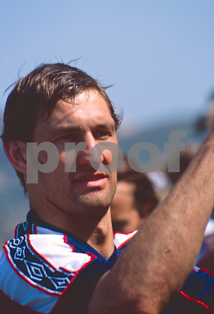 Tony Adams at La Manga Club with the England World Cup Squad, 28th May 1998