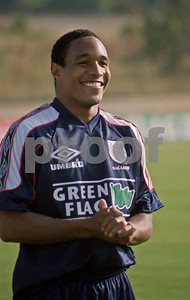 Paul Ince training with the England World Cup Squad at La Manga Club, 25th May 1998