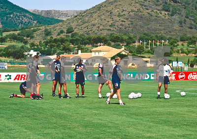 England World Cup Squad training at La Manga Club Football Centre, 25th May 1998