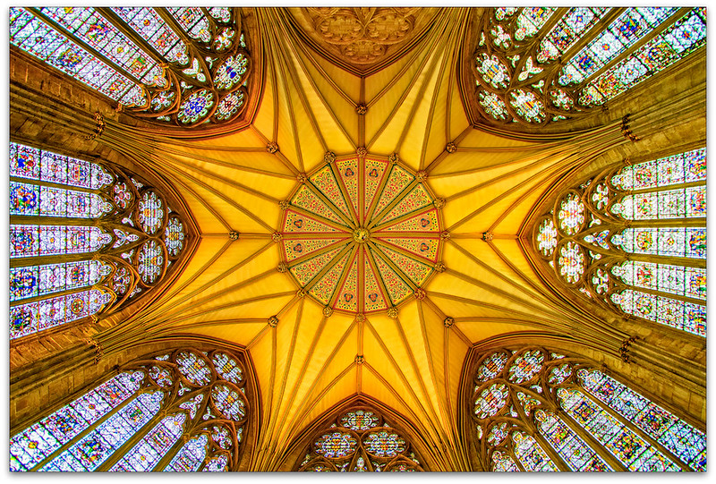 Ceiling York Minster Cathederal