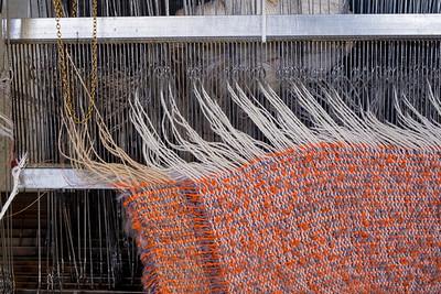 Weaving at Foxford Woollen Mills