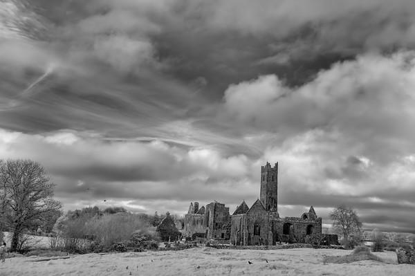 Quin Abbey, Infared