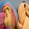 Bright Woolen Scarves, Foxford Woollen Mills