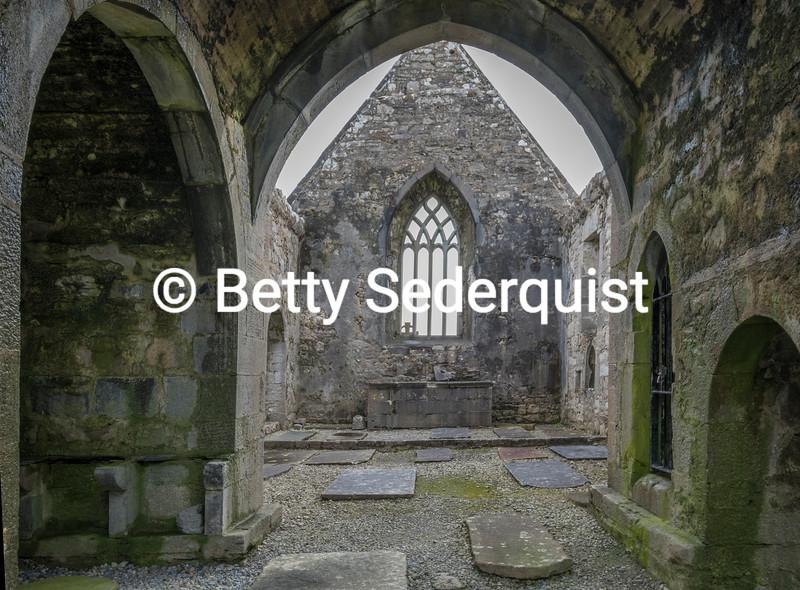 Burrishole Abbey Altar