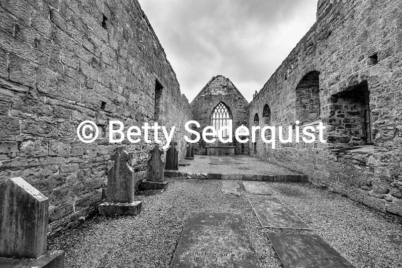 Murrisk Abbey Interior