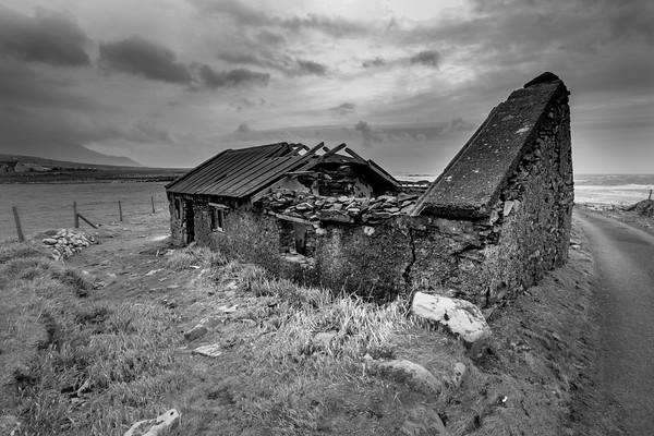 Stone Cottage, Barnabaum Point, Western Ireland