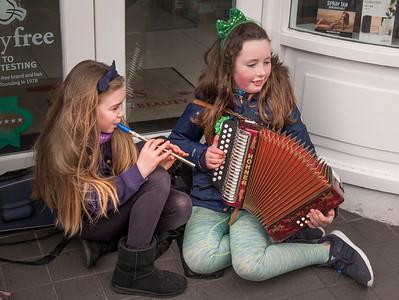 Young Streetside Irish Musicians, Westport