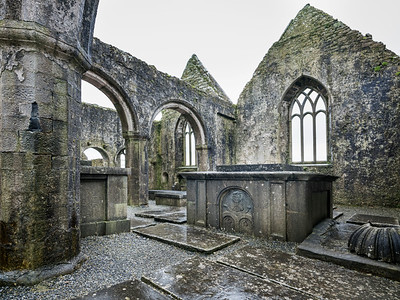 Interior of Ross Abbey