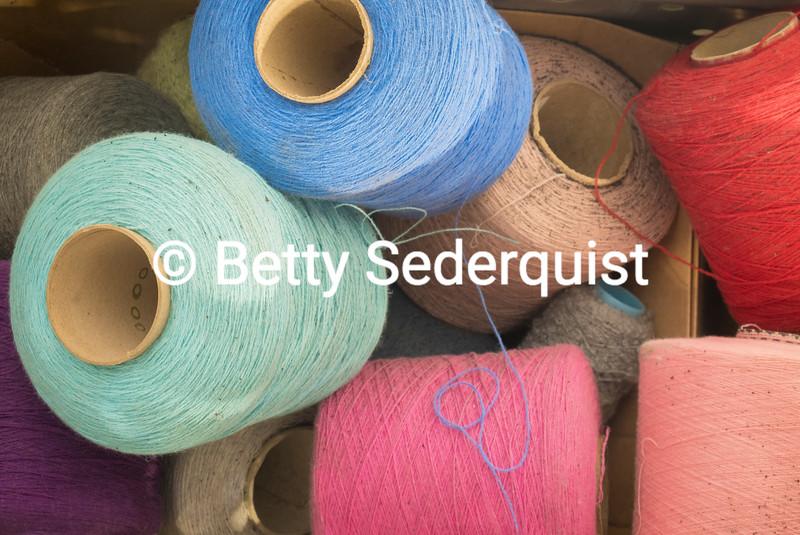 Spools of Woolen Thread, FoxFord Woollen Mills