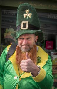 Costumed Participant, St. Patricks Day Parade, Westport, Ireland