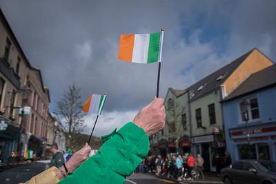 Irish Flags, St. Patricks Day, Westport, Ireland