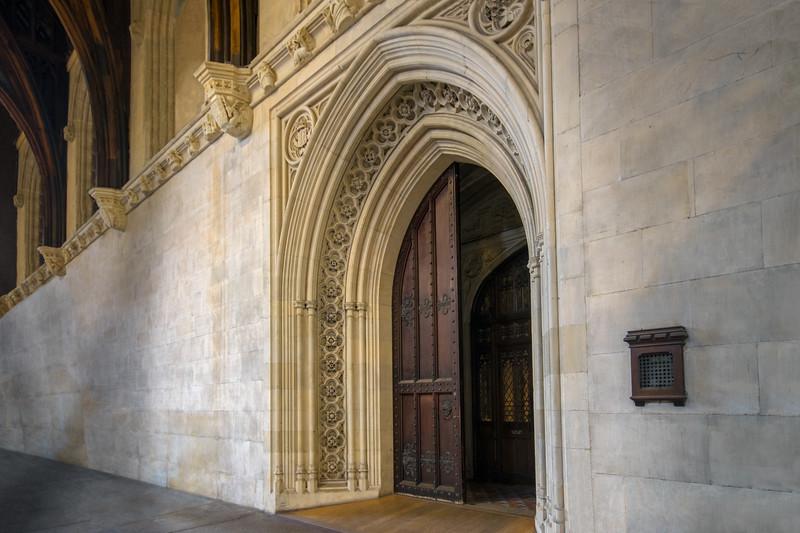 Grand Doorway in Westminster Hall
