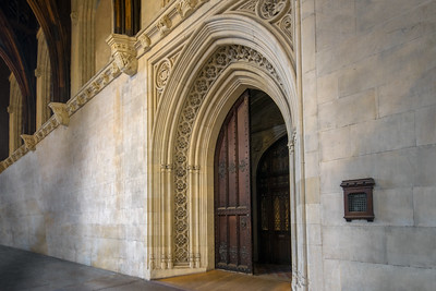 Grand Doorway in Westminster Hall