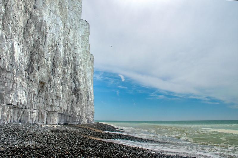 White Cliff and Sea