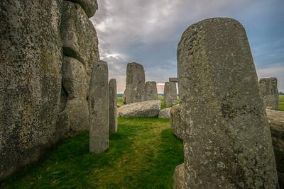 Stonehenge Inside at Dawn