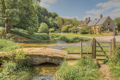 Upper Slaughter, The Cotswolds, England