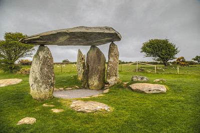 Pentre Ifan Dolmen Burial chamber, Wales