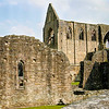 The ruins of Tintern Abbey, founded in 1131, near Wexford in Wales