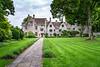 Avebury Manor, a large stone mansion in the village of Avebury, Wiltshire, England, Europe.