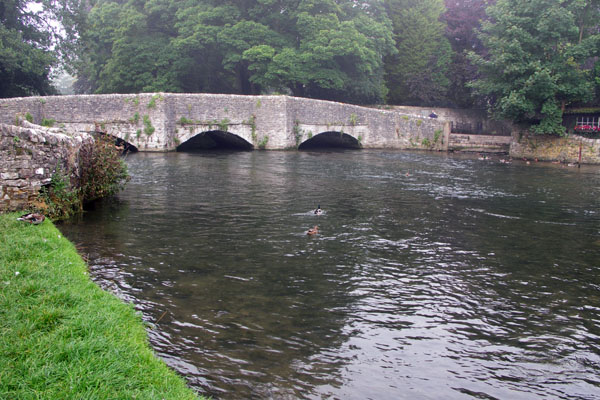 On the bus to Buxton, I had passed through the most picturesque small village, Ashford on the Water. One morning I took the bus back there. This is its famous medieval bridge.