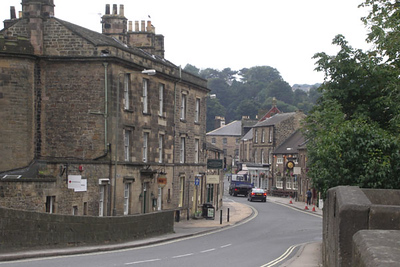 The village of Bakewell