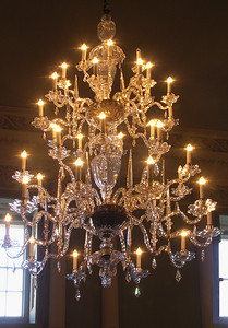 Chandelier in the Assembly Rooms