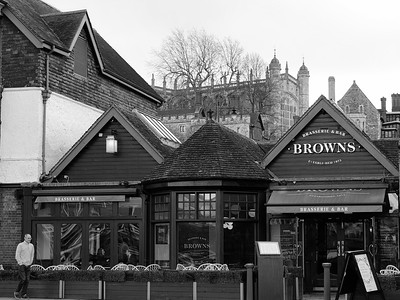 Browns Brasserie & Bar near Windsor Castle