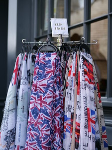 British flag theme scarf for sale