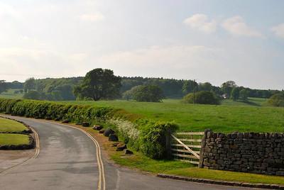 Idyllic English countryside