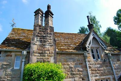 Victorian house near Bolton Abbey