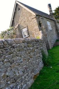 Stone wall at Bolton Abbey