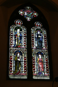 Window in St. Martin's Church.