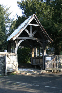 Lychgate at St. Martin's Church.